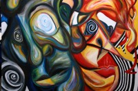 "Oil Painting on Masonite 22"" x 30"" 2005"