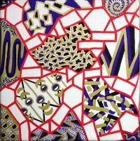 """6"""" x 6"""" Acrylic on Canvas 2013"""