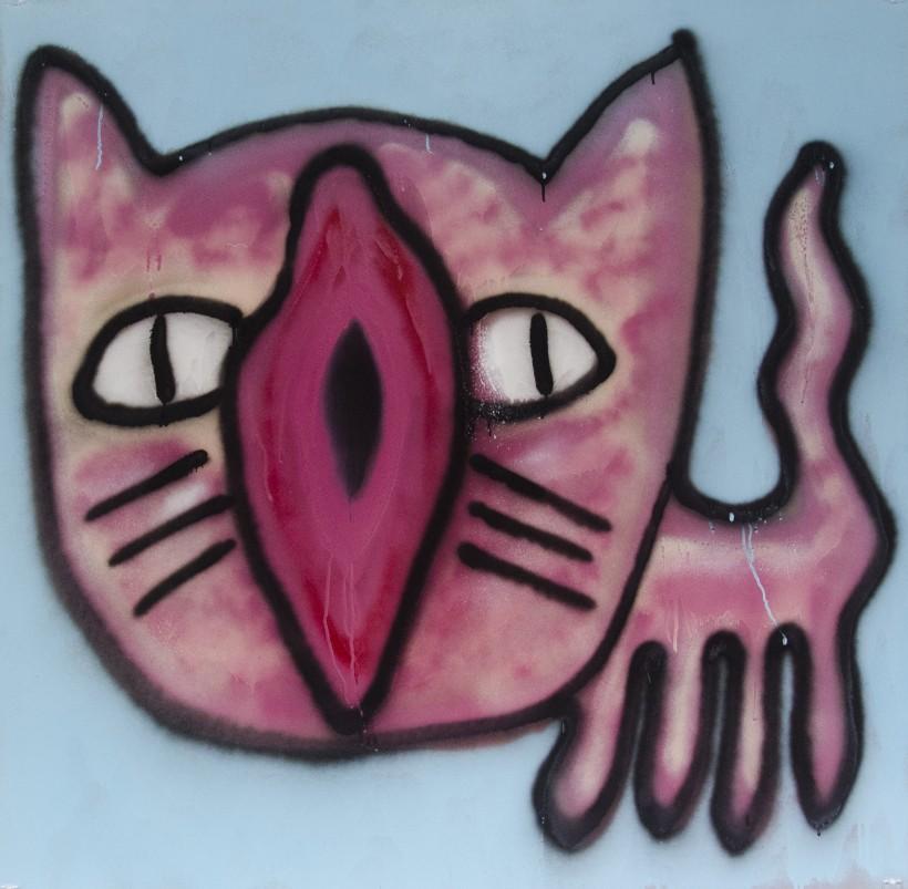 pink creator cat