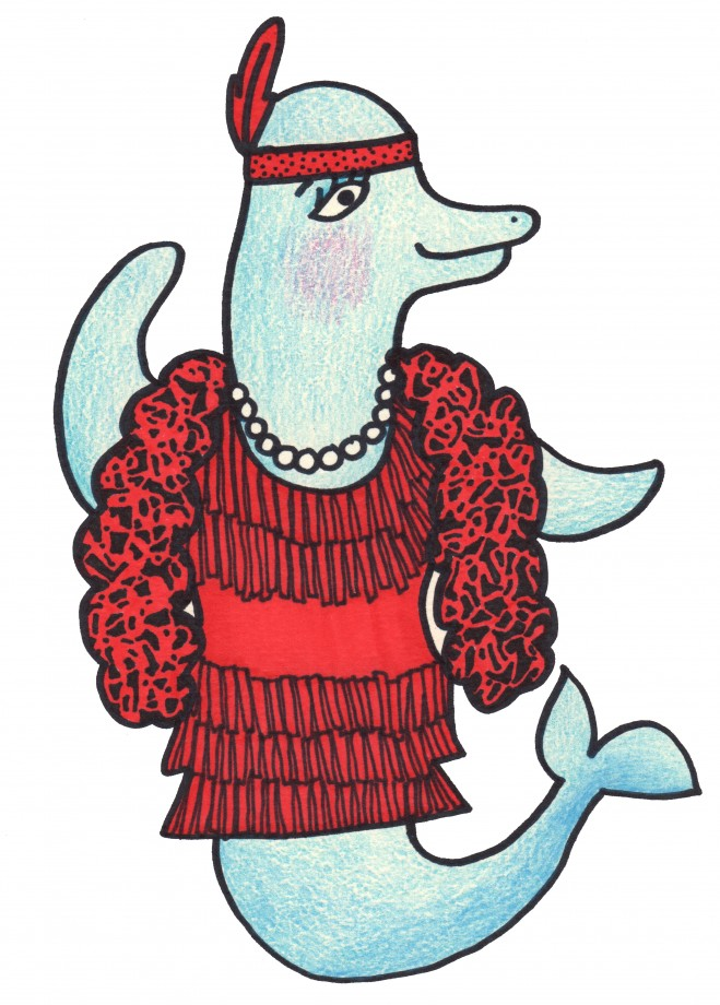 dolphin flapper