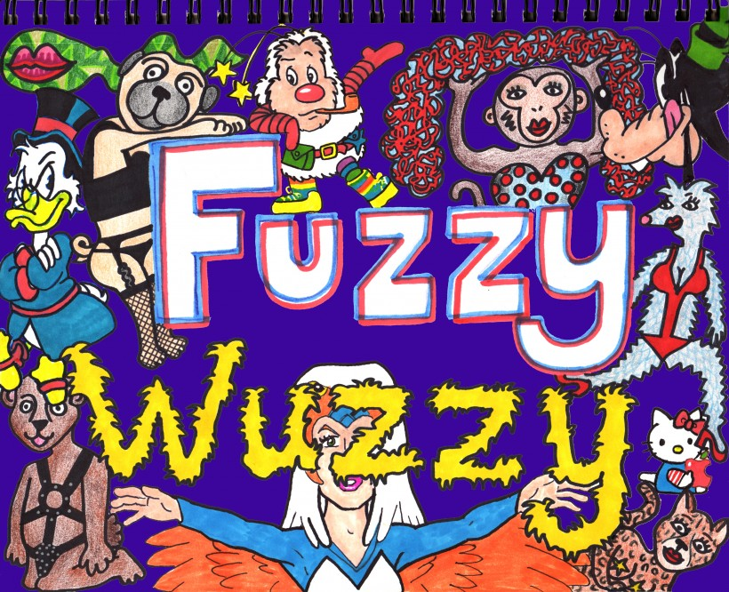fuzzy wuzzy purple