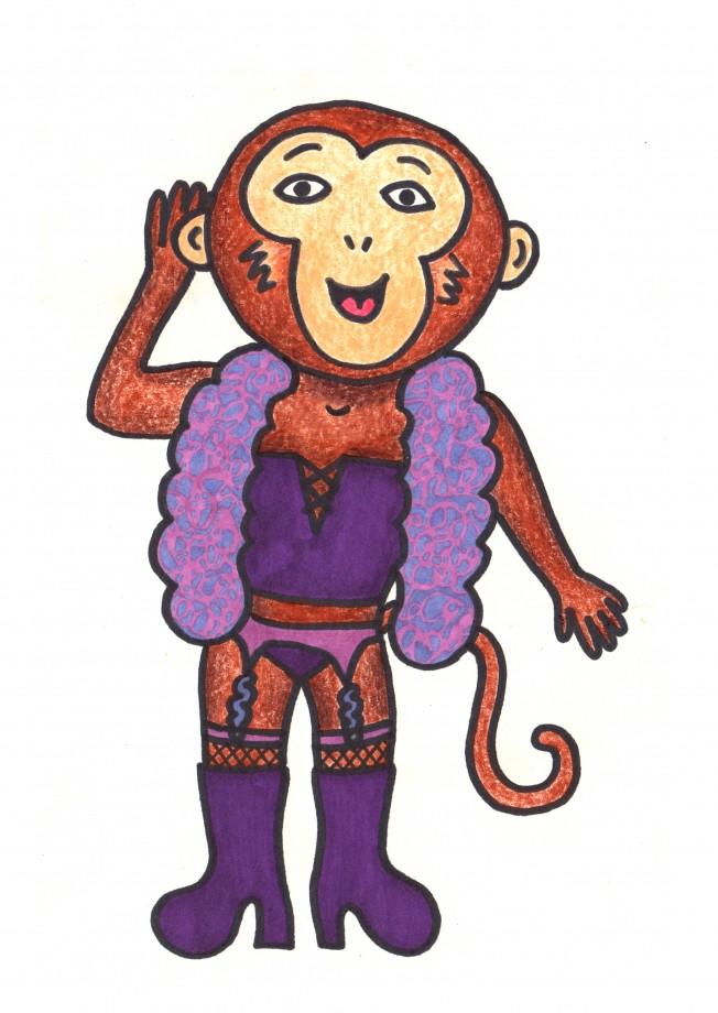 monkey drag