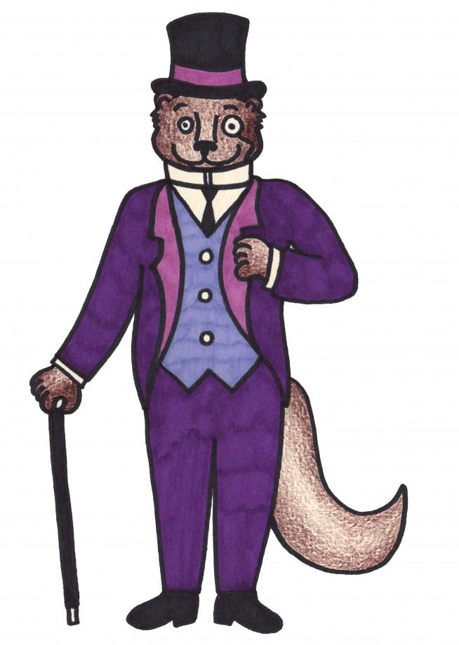 otter suit