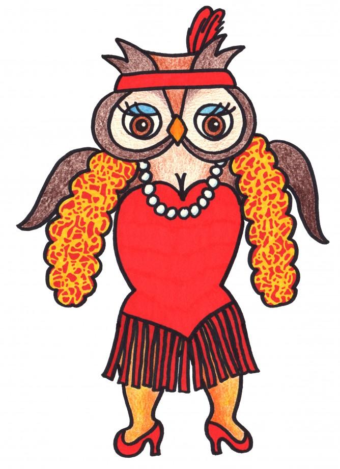 owl flapper