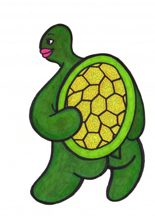 turtle naked
