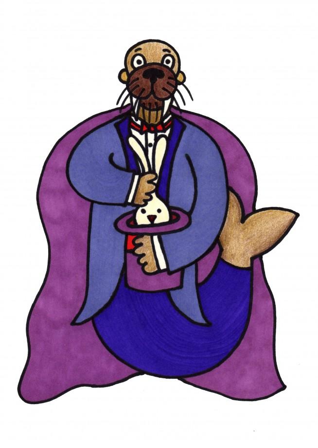 walrus magician